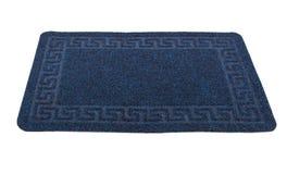Blue carpet Stock Images