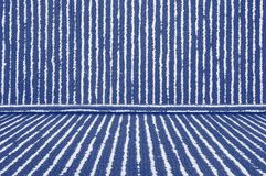 Blue Carpet Room texture. Background royalty free stock image