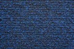 A blue carpet texture Stock Images