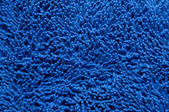 A blue carpet texture Stock Photography