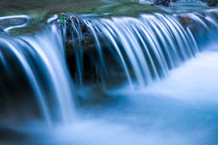 Blue cascade of mountain river Stock Image