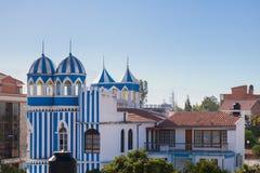 Blue Castle Stock Image