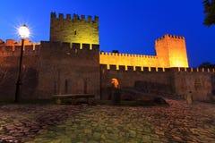 Blue castle Stock Photo