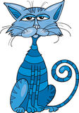 Blue cat Royalty Free Stock Photo