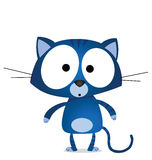 Blue cat Stock Image