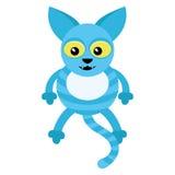 Blue cat. Stock Photos