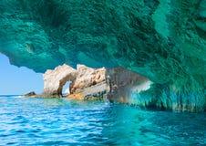 Beautiful lanscape of Zakinthos island Royalty Free Stock Photos