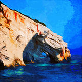 Blue Caves Stock Photos