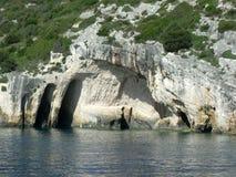Blue Caves Stock Photos