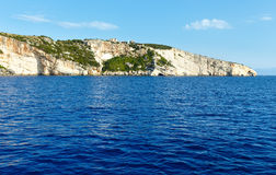 The Blue Caves in Zakynthos (Greece) Stock Image
