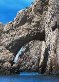 Blue caves on Zakynthos island, Greece Stock Images
