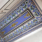 Blue ceiling at Bikaner,India. Royalty Free Stock Photography