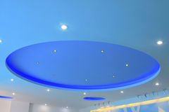 Blue ceiling Stock Photo