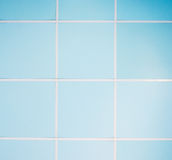 Blue ceilling. Of the small office in the capital city royalty free stock images