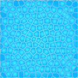Blue cells water background Royalty Free Stock Image