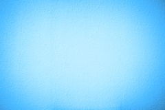 Blue cement plaster vignette style wall background Stock Images