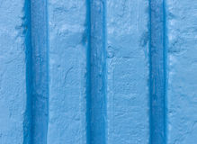 Blue cement wall Royalty Free Stock Photos