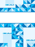 Blue Center Blank Stock Images