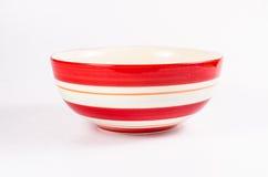 Blue ceramic bowl Royalty Free Stock Images