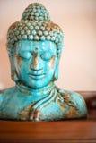 Blue ceramic Buddha Royalty Free Stock Photos