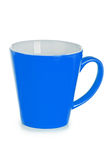 Blue ceramic cup Royalty Free Stock Photography