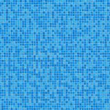 Blue Ceramic Mosaic. Seamless Texture. Royalty Free Stock Photos