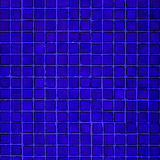 Blue ceramic mosaic tiles texture background Royalty Free Stock Images