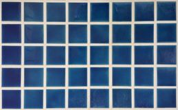 Blue Ceramic Tile. A blue ceramic tile Royalty Free Stock Photos