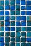 Blue Ceramic Tile Background Pattern / Texture Stock Image