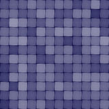 Blue ceramic tile seamless pattern Royalty Free Stock Image