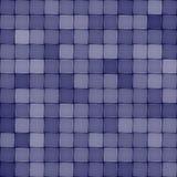 Blue ceramic tile seamless pattern vector illustration