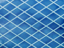 Blue ceramic tiles Royalty Free Stock Photography