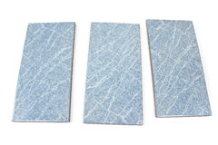 Blue ceramic tiles Royalty Free Stock Photo