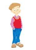 blue chłopców małe spodnie Obrazy Royalty Free