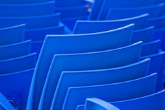 Blue chair Stock Photography
