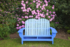 A blue chair. Royalty Free Stock Image