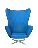 Blue chair Royalty Free Stock Images