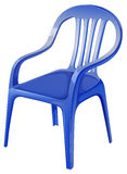A blue chair Royalty Free Stock Images