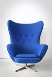 Blue chair in the room Royalty Free Stock Photos