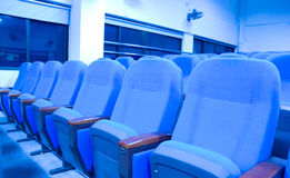 Blue chairs Royalty Free Stock Photos