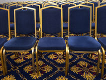 Blue chairs Stock Photography