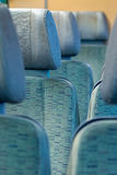 Blue chairs Royalty Free Stock Photography