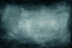 Blue chalkboard background. Closeup of blue chalkboard background Royalty Free Stock Photography