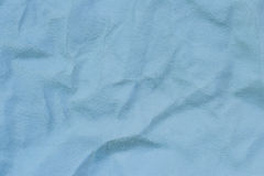 Blue chamois leather. (as a background Royalty Free Stock Photo