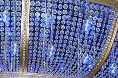 Blue Chandelier Royalty Free Stock Photography