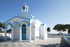 Blue chapel Royalty Free Stock Photography