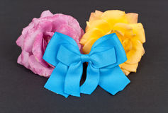 Blue Charity Ribbon Royalty Free Stock Images