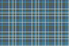 Blue check plaid fabric texture textile seamless pattern Royalty Free Stock Image