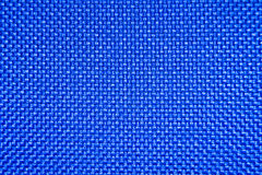 Blue checked fabric Royalty Free Stock Photography