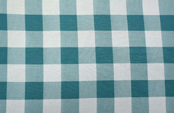 BLUE CHECKED FABRIC Stock Images